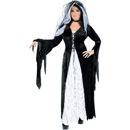 Gothic Bride Halloween Costume Uk (Bride of Darkness Adult Halloween)