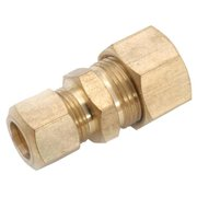 710082-1008 Brass Compression Reducing Union, Lead-Free, 5/8 x 1/2-In. - Quantity 1