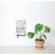 ADZif Blabla Your Story EN Wall Decal