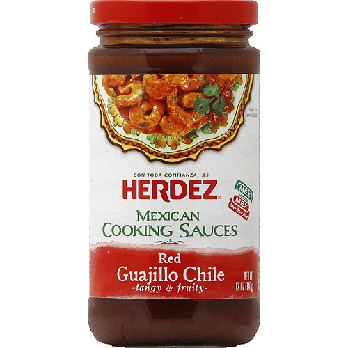 HERDEZ Red Guajillo Chile Mexican Cooking Sauces, 12 oz, (Pack of 6)