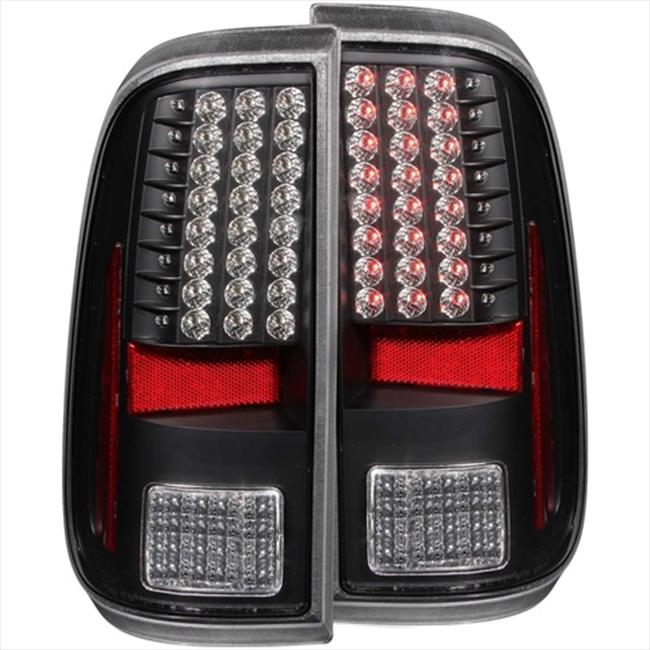 ANZO 311127 Ford F-250-350-450-550 Superduty 08-15 LED Tail Lights, Black