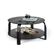 Temahome 9500.625305 Pedro Andre Scale Coffee Table, Ebony & Ivory - Black