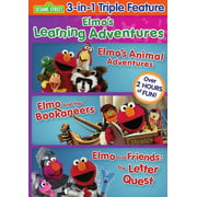 Elmo's Learning Adventures: Triple Feature by Sesame Street