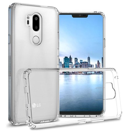 low priced 9a0a9 f764d CoverON LG G7 ThinQ Case, ClearGuard Series Clear Hard Phone Cover