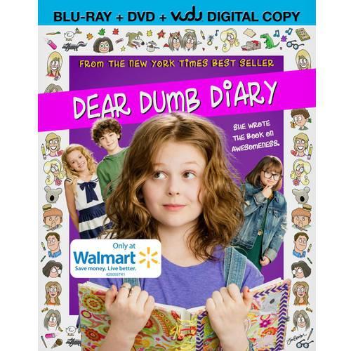 Dear Dumb Diary (Blu-ray + DVD + VUDU Digital Copy) (Walmart Exclusive) (Widescreen)