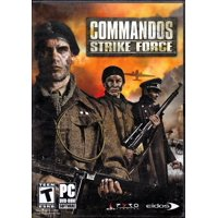 Commandos Strike Force PC DVD Game - Go behind enemy lines as the Elite Commandos and defy the challenge of WWII