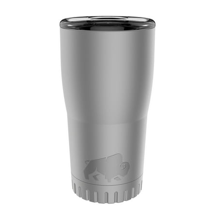 Silver Buffalo Stainless Steel Tumbler