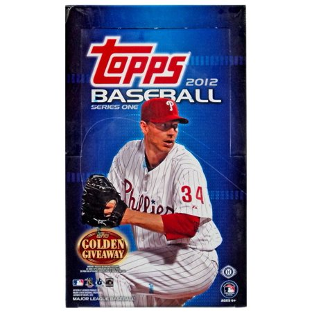 Mlb 2012 Topps Baseball Cards Trading Card Hobby Box Series One