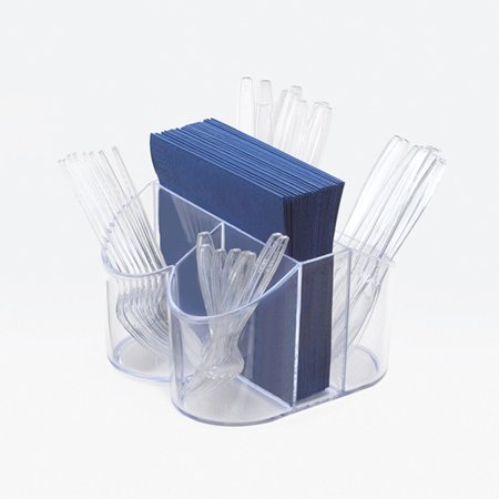 8W x 8D x 5H Classic Flatware and Napkin Display