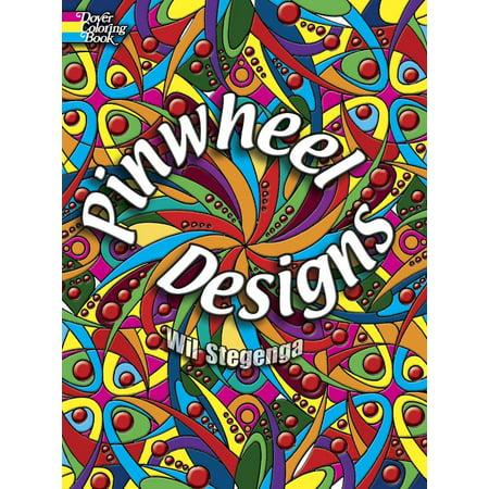 Dover Design Coloring Books: Pinwheel Designs (Paperback)