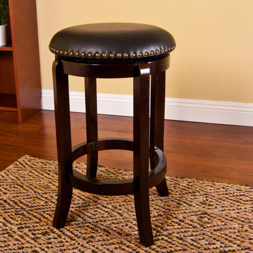 AC Pacific ACBS 29'' Swivel Bar Stool with Cushion