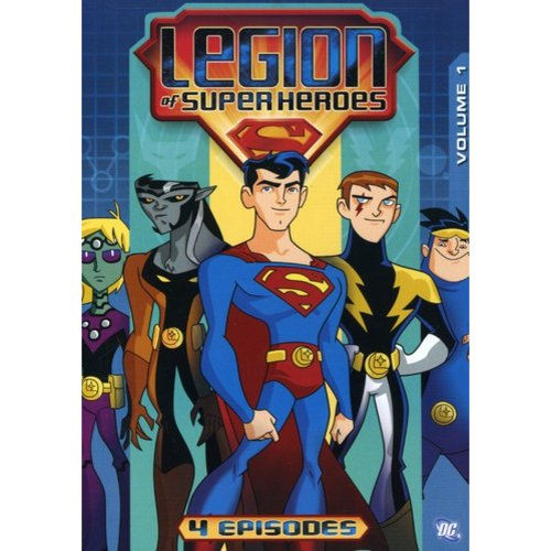 LEGION OF SUPERHEROES-VOLUME 1 (DVD/P&S-1.33)