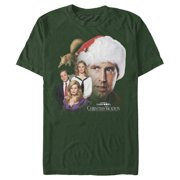 National Lampoon's Christmas Vacation Men's Griswold Family Portrait T-Shirt