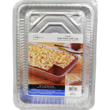Mainstays Cake Pans with Lids, 2 Count - Thomas The Tank Engine Cake Pan