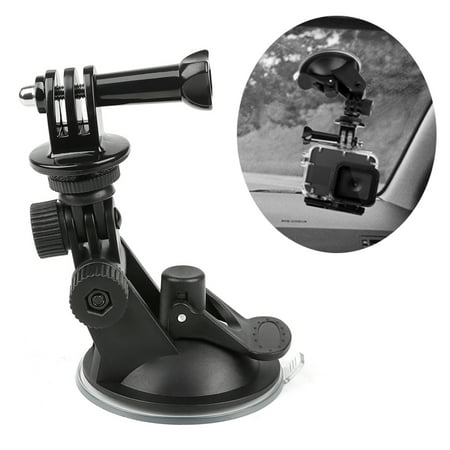 Mini Car Window Suction Holder Cup Windshield Glass suction cup For GoPro Hero7/6/5 (Windshield Pro Glass)