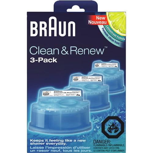 Braun Clean & Renew Refills, Pack of 3