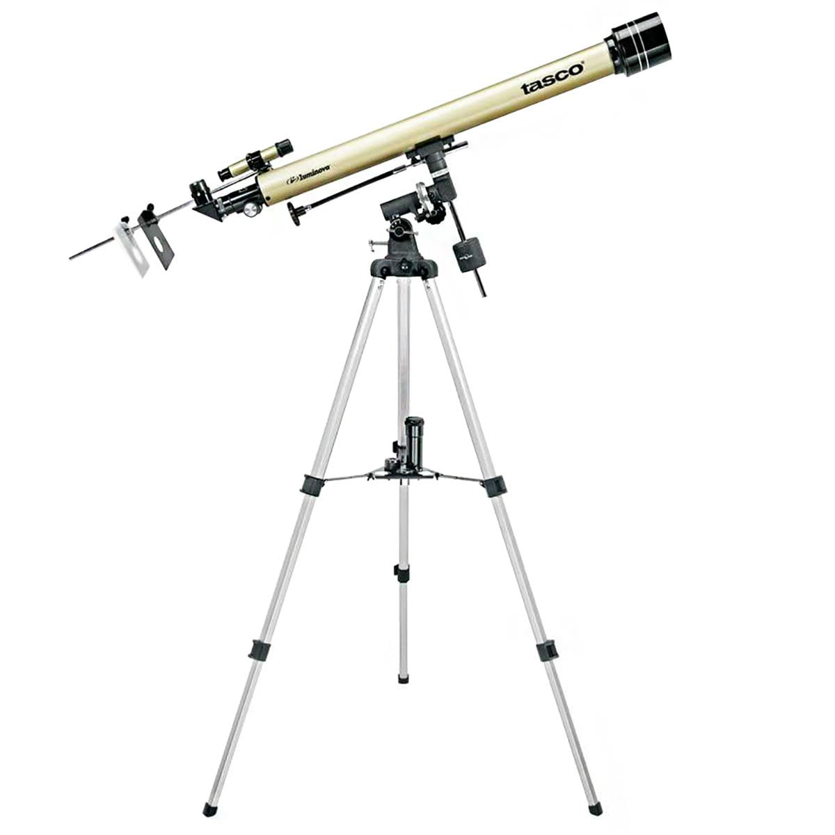 Tasco Luminova 60x 900mm Refractor Telescope w  Tripod (Certified Refurbished) by Tasco
