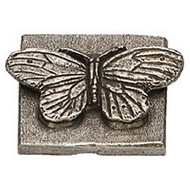 Premier Hardware Designs PHDT-2-NP Oil Rubbed Bronze Butterfly Tile, 2 x 2 Inch