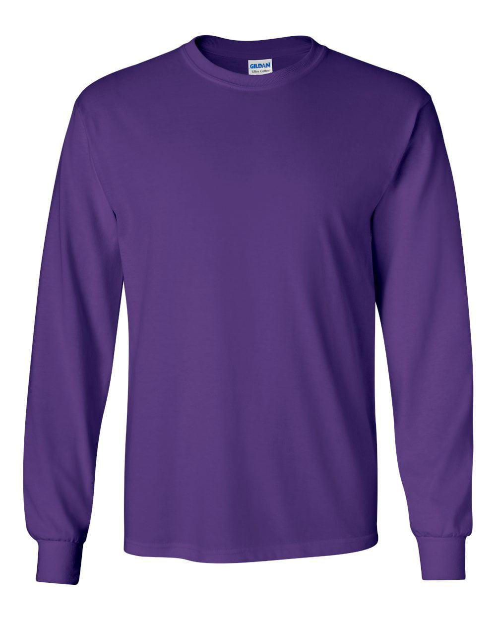 Gildan T-Shirts - Long Sleeve Ultra Cotton Long Sleeve T-Shirt ...