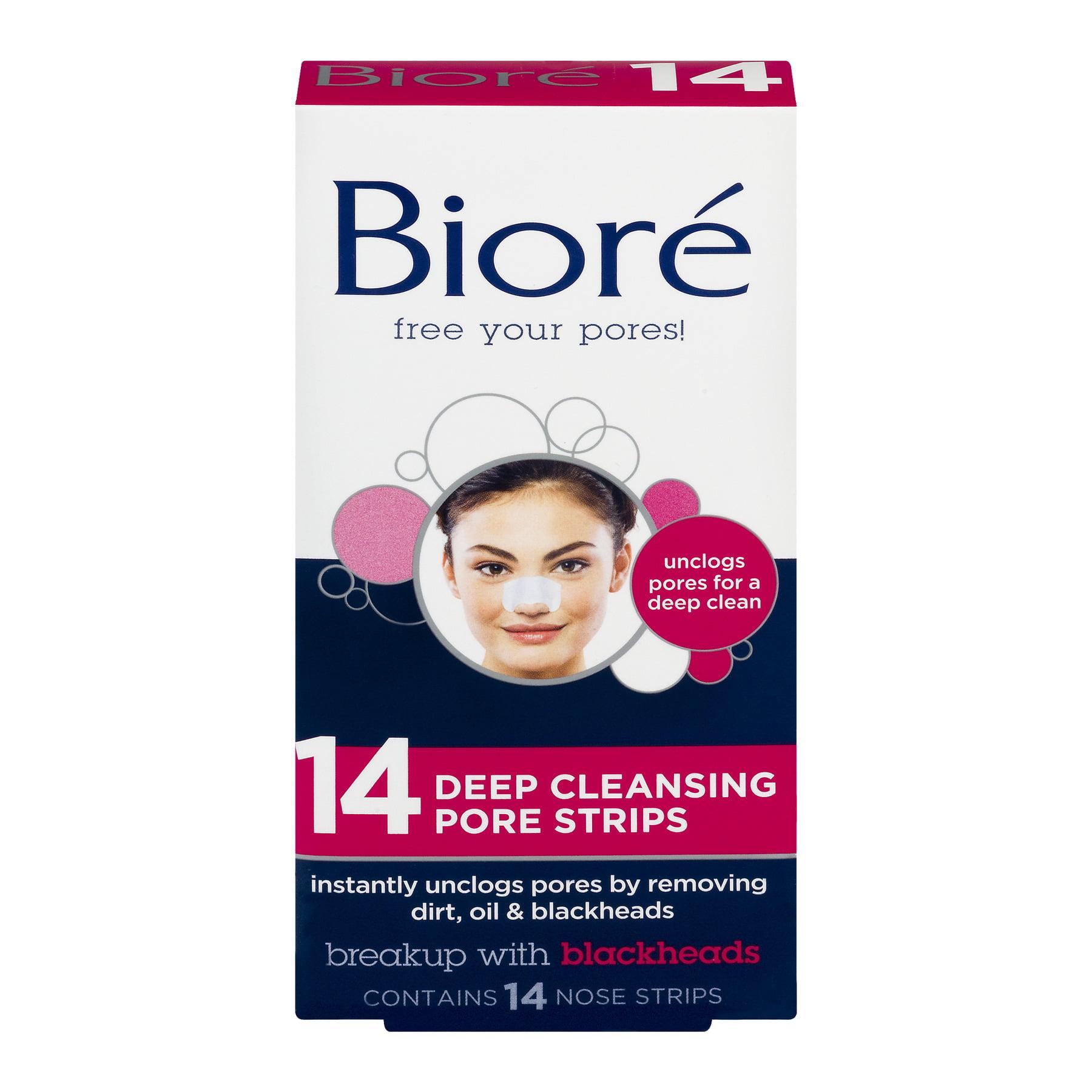 Bioré Deep Cleansing Pore Strips, 14 count