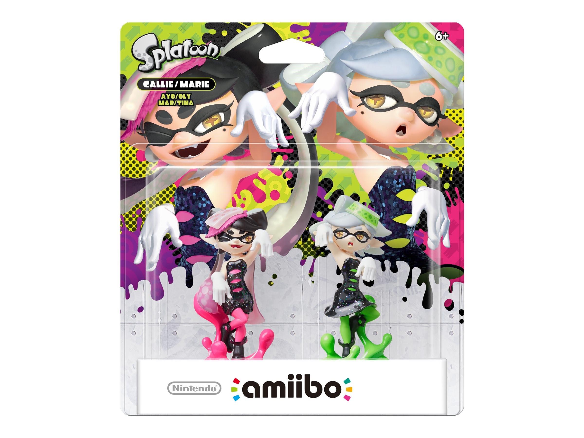 Nintendo Callie Marie 2 Pack Amiibo Nintendo Wii U Walmart