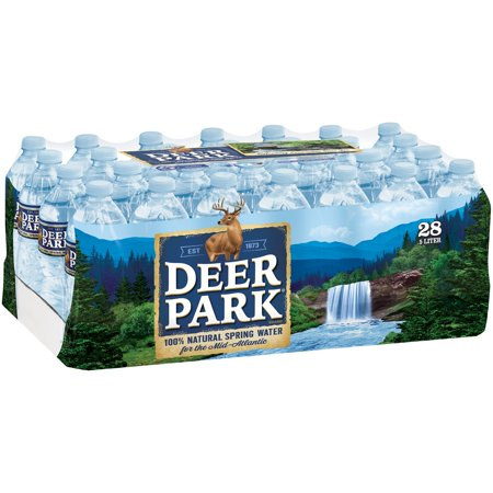 Deer Park Brand 100 Natural Spring Water 16 9 Ounce