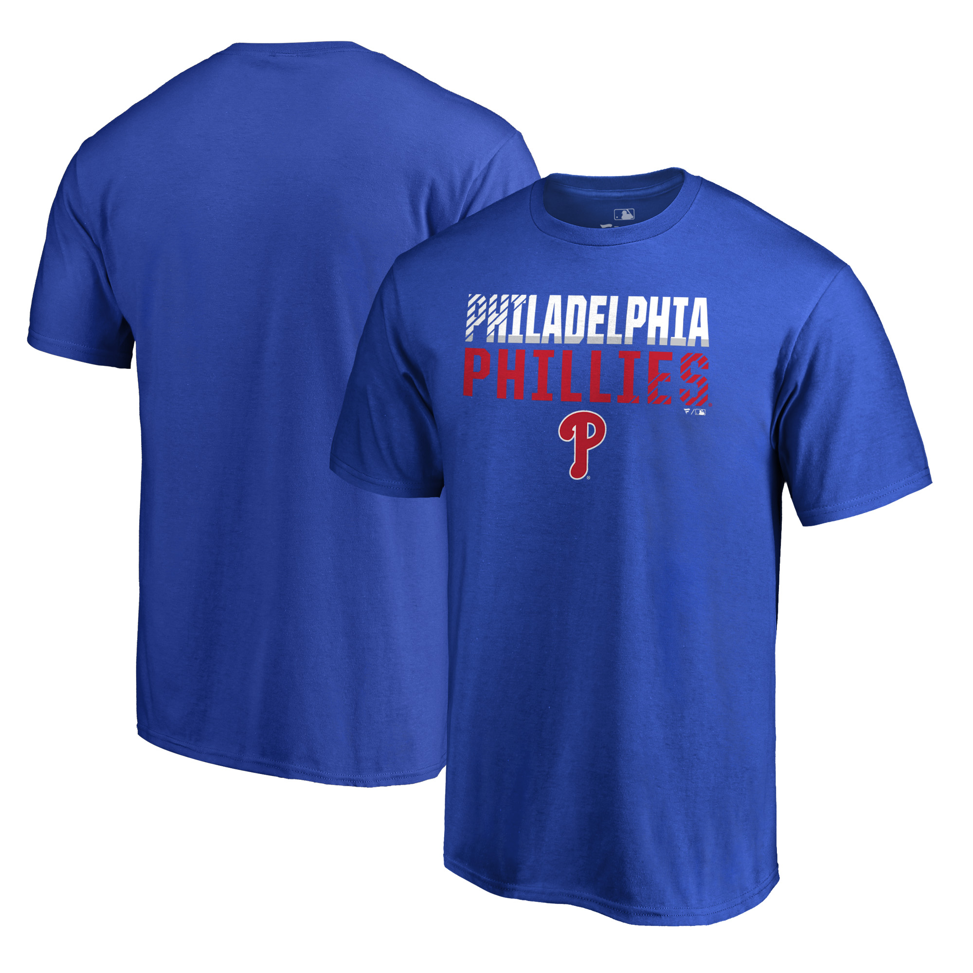 Philadelphia Phillies Fanatics Branded Team Fade Out T-Shirt - Royal