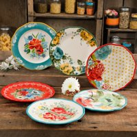 The Pioneer Woman Collected 6-Piece Salad Plate Set