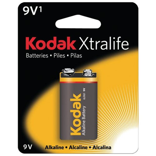 KODAK K9V-1 891-3089 Xtralife(TM) Alkaline Batteries (9V; Single)