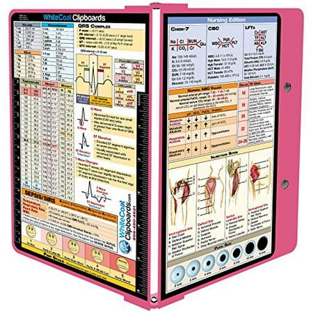 5f936a44fb12 WhiteCoat Clipboard- Pink - Nursing Edition - Walmart.com