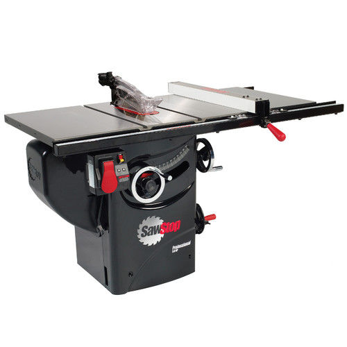 SawStop PCS31230-PFA30 220V Single Phase 3 HP 13 Amp 10 in. Professional Cabinet Saw with 30 in. Fence System