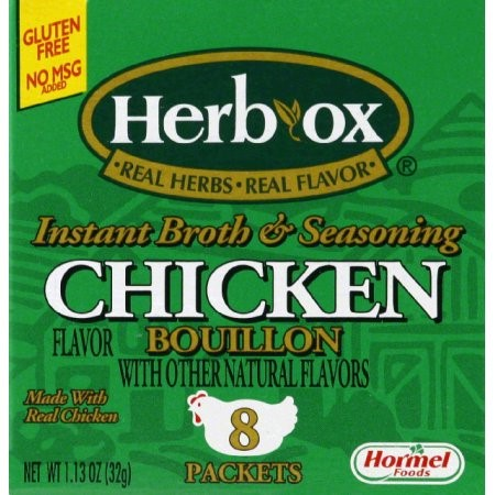 Herb-Ox Granulated Bouillon, Chicken, 1.13 Oz, 8 Ct