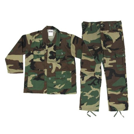 Woodland Animal Costumes (Kids Woodland BDU Uniform Set - LARGE - Kids Military Halloween)