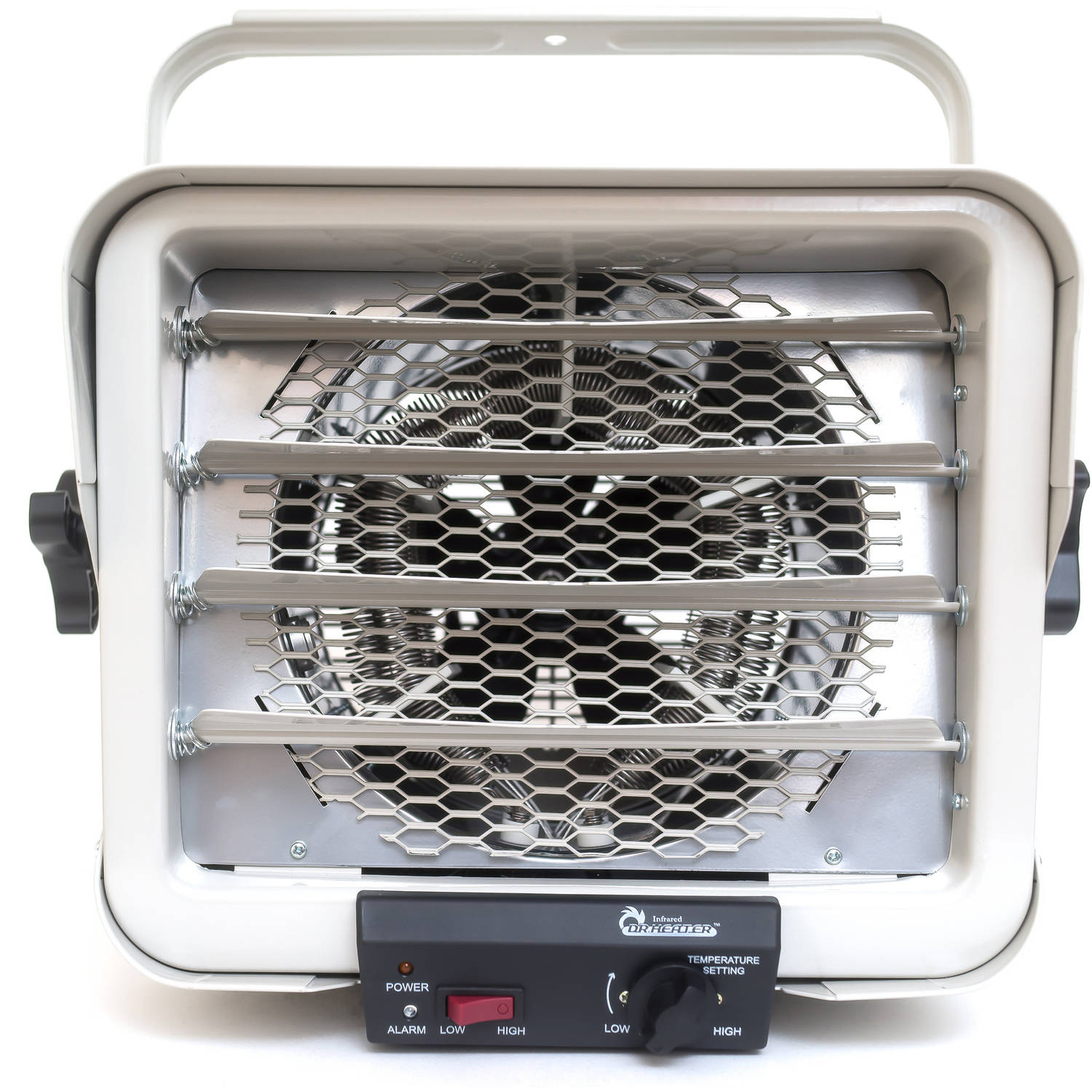 Dr. Infrared Heater DR-966 240-Volt Hardwired Shop Garage Commercial Heater, 6000W