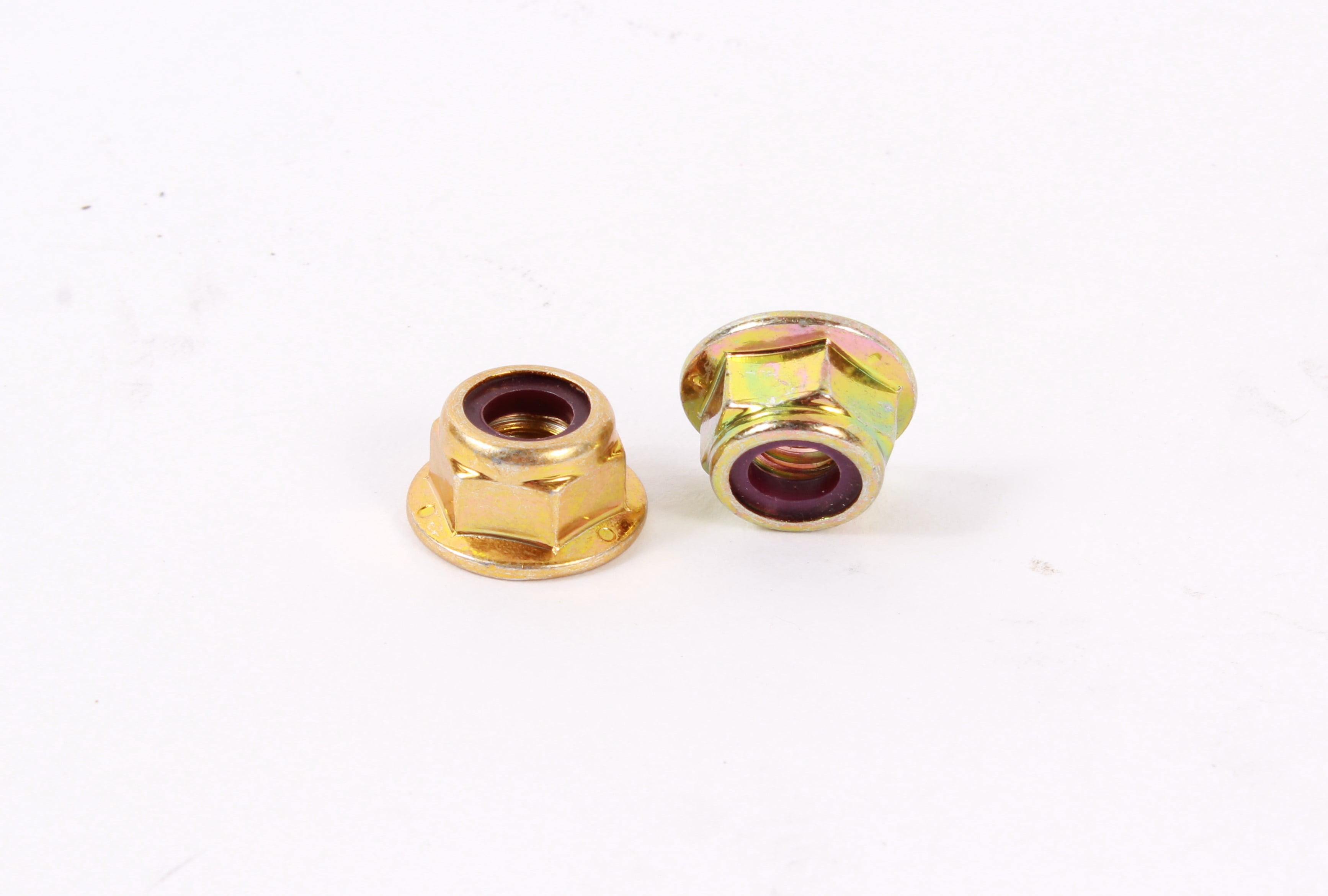 2 Pack MTD 712-04063 Hex Flange Lock Nut For Columbia Craftsman Huskee Troy Bilt by MTD