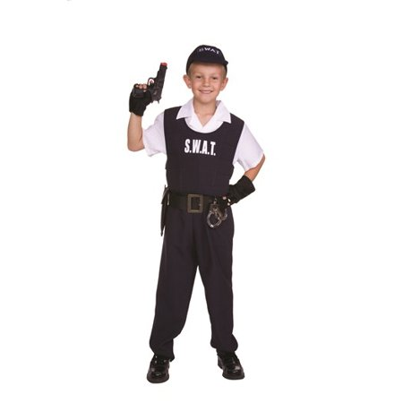 Swat Child Costume - Kids Swat Costumes