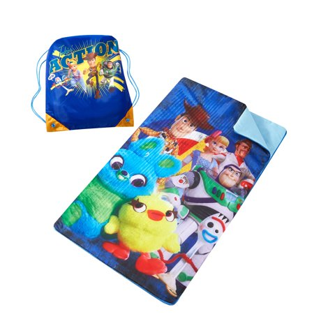 Disney Toy Story 4 Sleeping Bag with Bonus Sling Bag ()