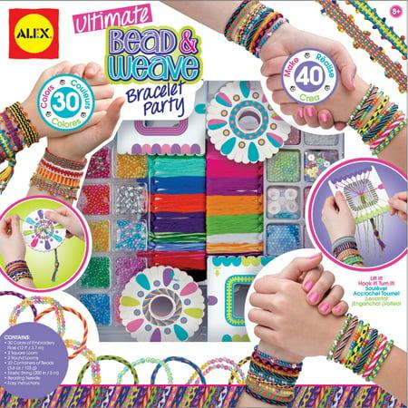 Ultimate Bead & Weave Bracelet Party Kit