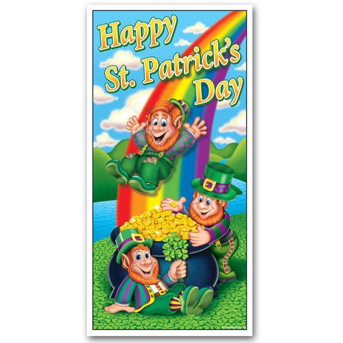 Happy St. Patrick's Day Door Cover