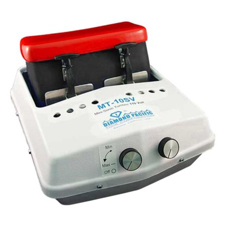 Diamond Pacific Mt 10 Mini Sonic Vibrating Rock Tumbler   1 Hopper