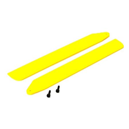 Hi-Performance Main Rotor Blade Set, Yellow: 130 X Multi-Colored
