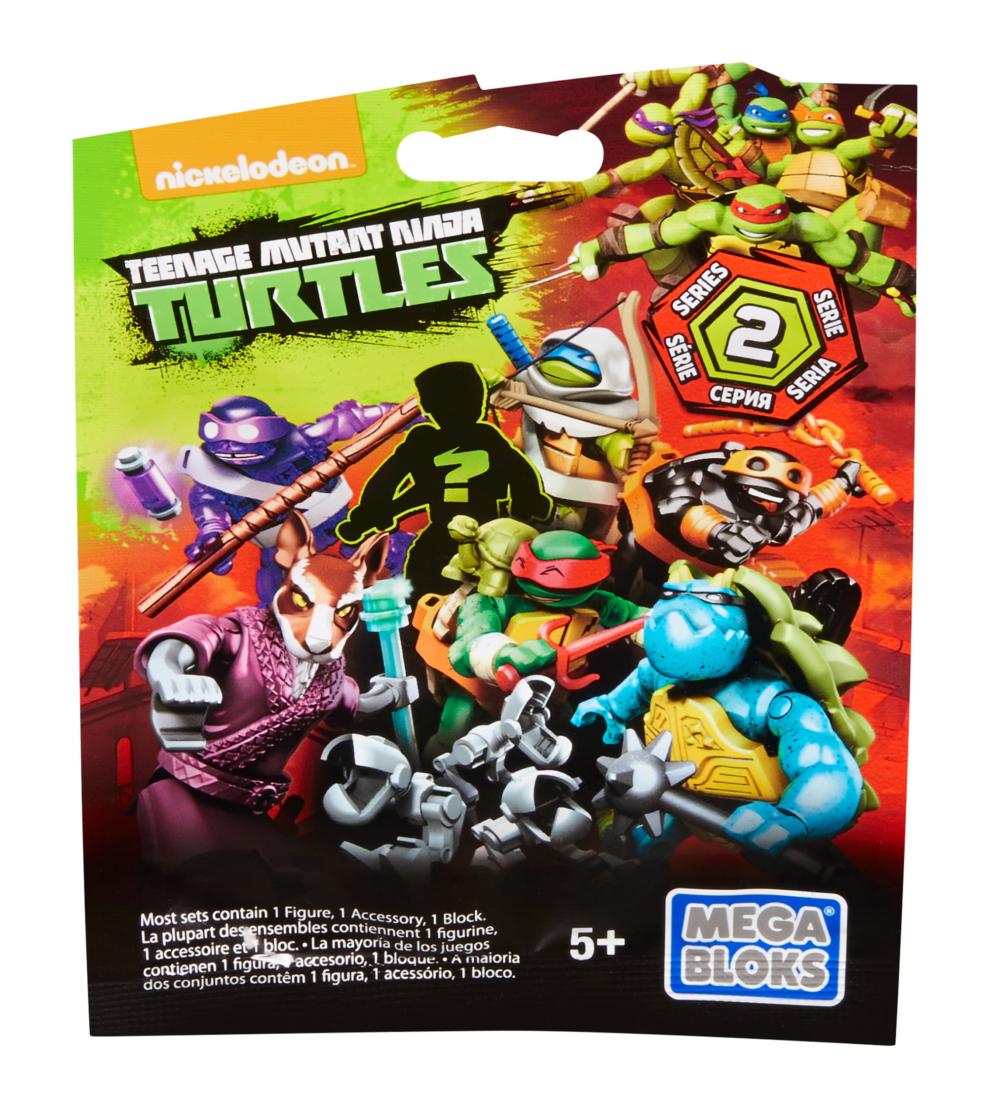 Mega Bloks Teenage Mutant Ninja Turtles Micro Action Figure Series