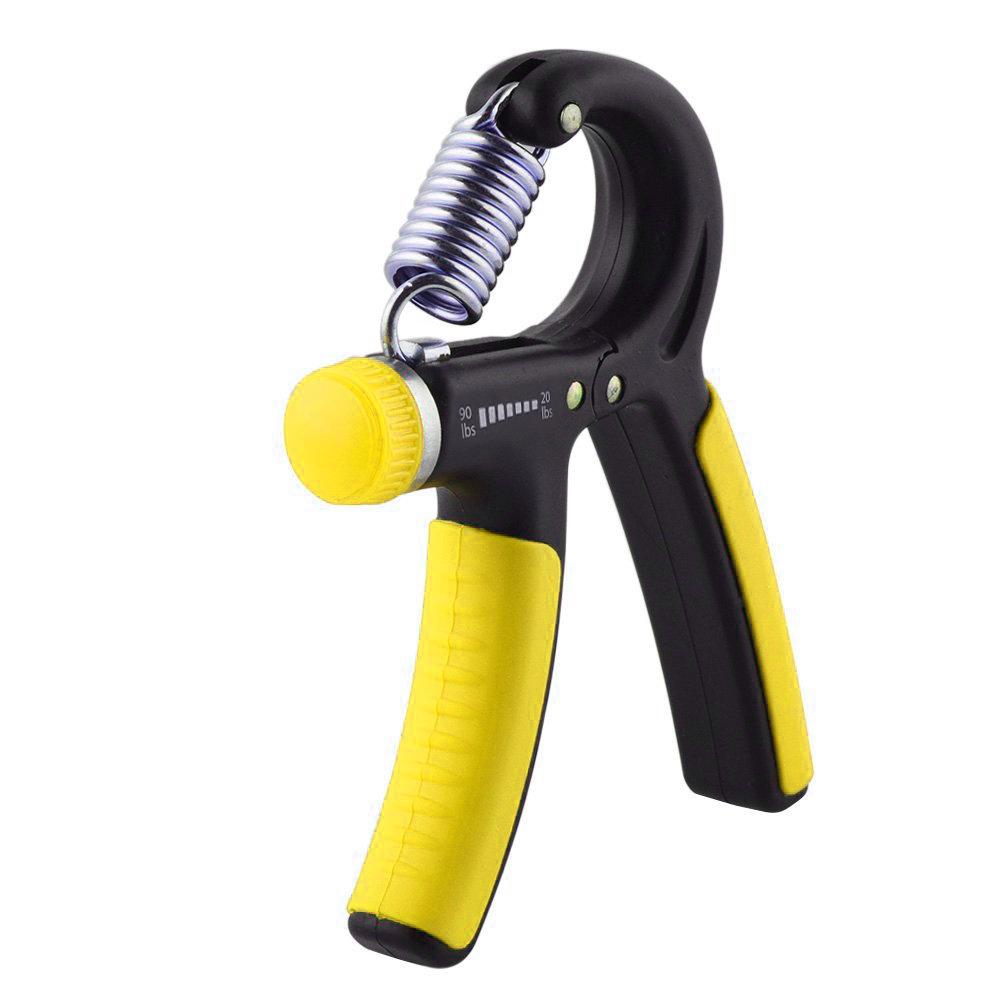 hand grip strengthener - 20-90 lbs adjustable resistance range ...