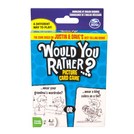 Spin Master Games - Would You Rather…? - Picture Card Game](Halloween Would You Rather For Kids)