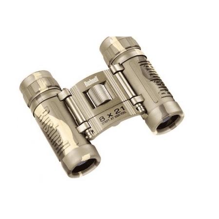Bushnell 8x21 Powerview Binoculars in Camo - -