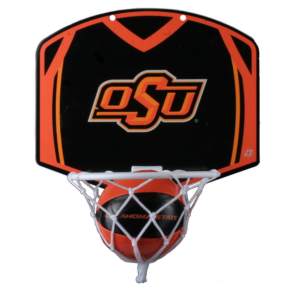 Oklahoma State Cowboys Mini Basketball And Hoop Set