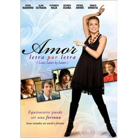 Amor Letra Por Letra (DVD) (Por Tu Amor Dvd)