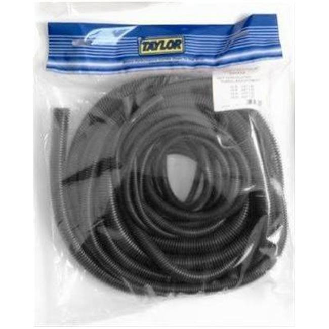0.37 x 25 ft. Convoluted Tubing for 1975-1978 Toyota Pickup, Black