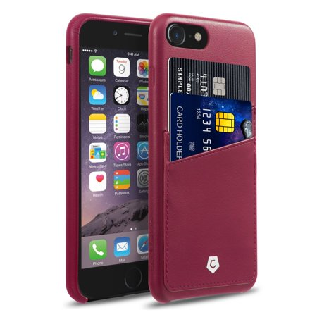 burgandy iphone 8 case