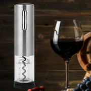 Sonew Electric Wine Opener,USB Rechargeable Smart Electric Wine Opener Full Automatic Bottle Opener Silver,Rechargeable Wine Opener